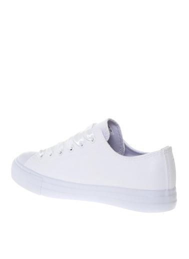 Lumberjack Lumberjack Kadın Deri Beyaz  Düz Ayakkabı Beyaz